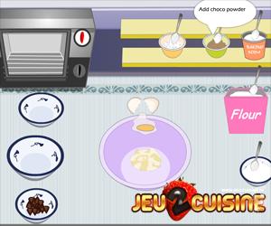 jeu de cuisine preparer un gateau au chocolat arts culinaires magiques. Black Bedroom Furniture Sets. Home Design Ideas